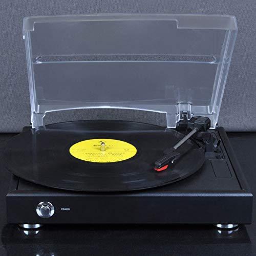 VSander Retro-Vinyl-Plattenspieler Antike Phonograph Maschine Topfmaschine Wohnzimmer Jahrgang Grammophon Schallplatten