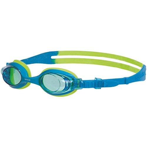 Speedo Unisex - Kinder Schwimmbrille Sea Squad Skoogle, blue/green, one size (von 2 bis 6 Jahren), 8-073598029
