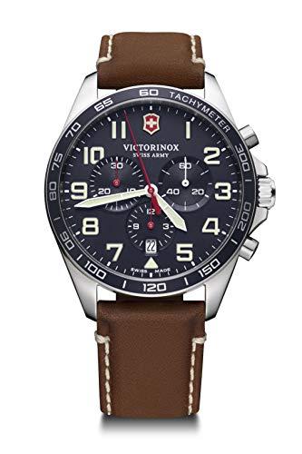 Victorinox Hombre Field Force Chronograph - Reloj de Acero Inoxidable de Cuarzo analógico de fabricación Suiza 241854