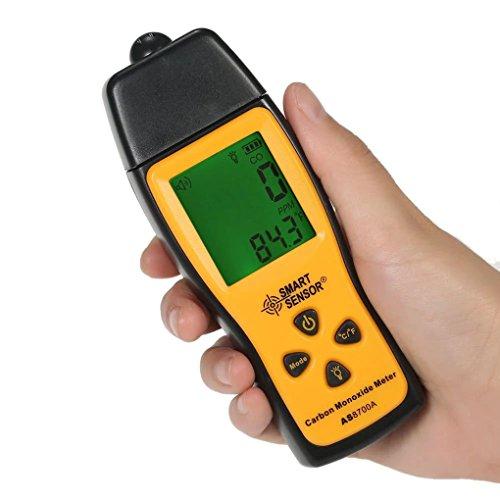 Carbon Monoxide Alarm,Carbon Monoxide Meter,Handheld CO Detector,Portable CO Alarm, Gas Analyzer, High Precision Detector, LCD Display 0~1000ppm