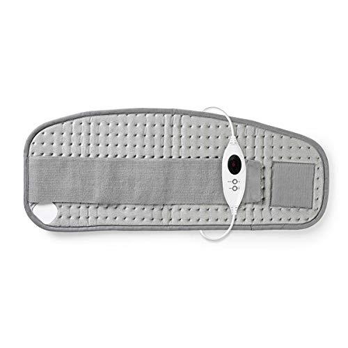 Nedis - Heizkissen - Bauch- und Rückenheizkissen - 69 x 28 cm - 6 Heizstufen -Digitales Display - Digitale Steuerung - Überhitzungsschutz - maschinenwaschbar