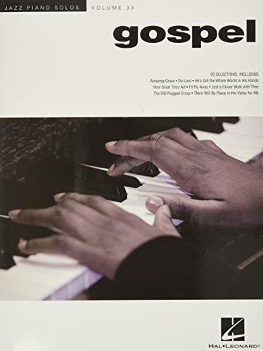 Jazz Piano Solos Volume 33: Gospel: Jazz Piano Solos Series Volume 33