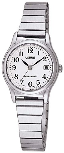 Lorus Watches dames analoog kwarts smartwatch polshorloge met paqué of armband RJ205AX9