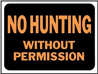 Best hunting by permission only signs Reviews