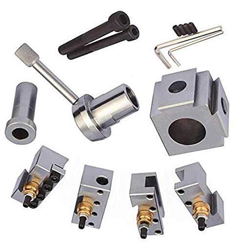 ZGQA-GQA - Supporto per tornio in acciaio con cambio rapido, strumento di alesatura, lama di tornitura per tornitura