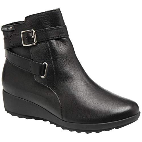 Mephisto Damen Ariane Leder Black Stiefel 39 EU