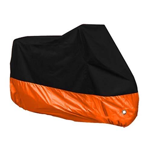 HEQCG Fundas para Motos Compatible con Las Cubiertas de la Motocicleta Benelli Bn 600 GT, paño de poliéster Recubierto de Plata de 190T, 10 Colores, Accesorios multifuncionales de Moto