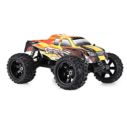 Metermall Toys ZD Racing 9116(V2) 1/8 2.4G 4WD 80A 3670 Brushless RC Car Monster Off-Road Truck RTR Toy