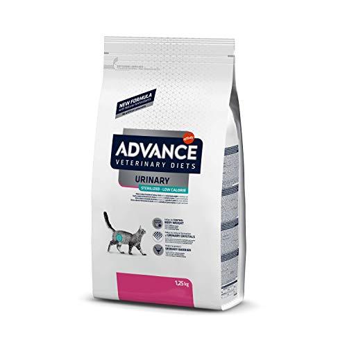 ADVANCE Veterinary Diets Urinary Sterilized Low Calorie - Cibo per Gatti Sterilizzati con Problemi Urinari - 1.25 kg