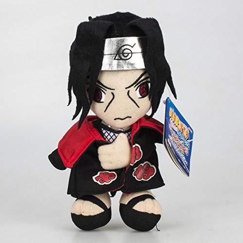 N/B Ypzz Hot Naruto Anime Spielzeug Shuriken Naruto Plüsch Anhänger Auto Saug Anhänger Greifmaschine Puppe-Uchiha Itachi_ Ungefähr 17~20 cm