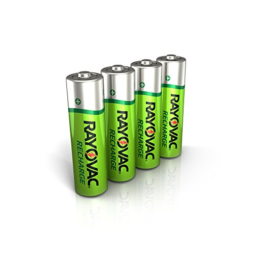 Our #6 Pick is the Rayovac Rechargeable AA Batteries