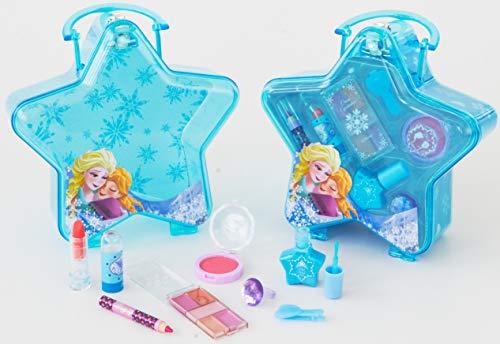 DISNEY Princess La Reine Des Neiges - Frozen Snow Flake Coffret de Maquillage en Forme d'Etoile