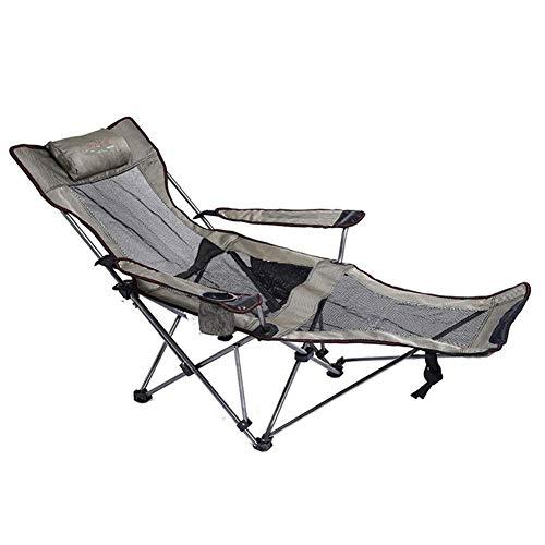YLCJ Campingstoel Set van 2 stoelen Zero Gravity - Opvouwbare en ligstoel Twin Pack Gemaakt met stalen frame en textiel voor patio/tuin/winter/tuin