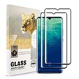 AYSOW-Schutzfolie für ZTE Axon 10 Pro HD All Coverage Hartglasfolie Anti-Fingerabdruck Blasenfrei Leicht zu installierende 9H-Festigkeit-Glasschutzfolie für ZTE Axon 10 Pro [2 Pack]