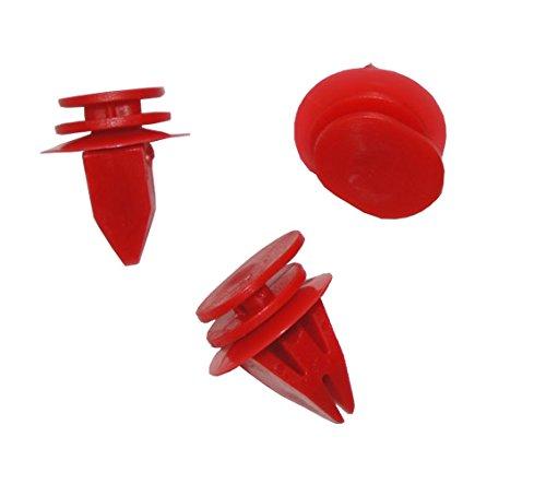 myshopx Clips de fixation C123 pour revêtement de portière, pare-chocs, bagues, rivets, rivets en plastique