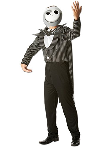 Rubie's Costume Officiel Jack Skellington Night Before Christmas pour Adulte – Taille Standard