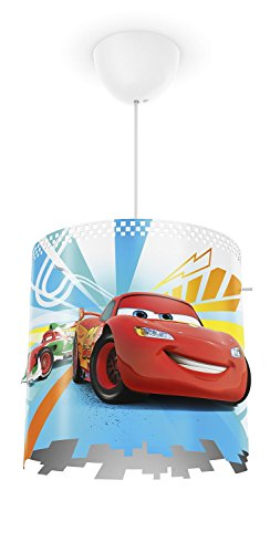 Philips Disney Cars Pendelleuchte, rot, 717513216