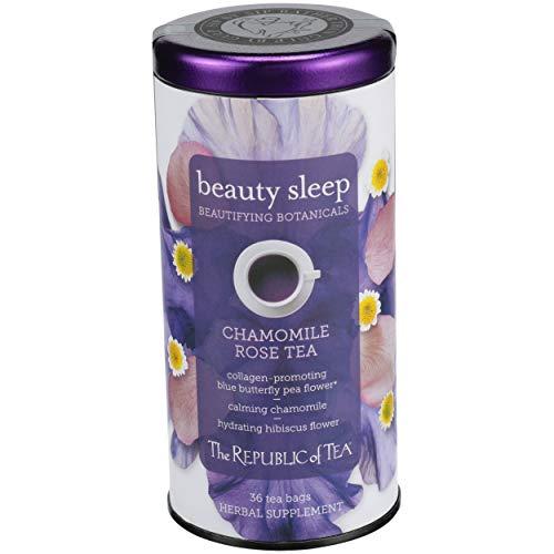 Republic Of Tea, Chamomile Rose Beauty Sleep Tea, 36 Count