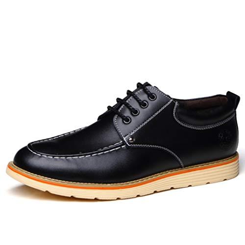 Zapatos Planos para Hombre Zapatos de Cuero Casual Cómodo Talla Grande Oxford...