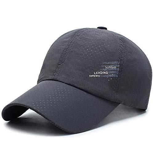 wtnhz Sombrero-Sombrero para el Sol Gorra de béisbol Coreana Malla de Secado rápido Gorra para el Sol de Marea Transpirable