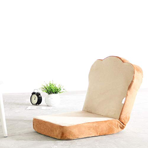 GCE Silla de Piso con Forma de Huevo de Pan Juego de sofá Perezoso sillas de Piso de meditación sillas de Juego para Dormitorio Sala de Estar Restaurante Silla con Respaldo