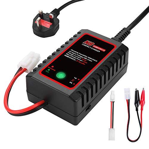 HTRC N8 NiMH Charger for 2-8s Nimh/NiCD Battery Pack(2.4V 3.6V 4.8V 6V 7.2V...