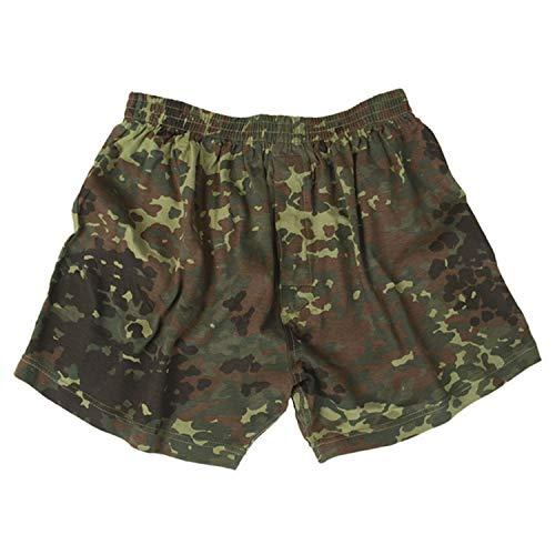 Copytec Bundeswehr Boxershort Flecktarn Army Shorts Unterhose Unterwäsche Camo #31929, Größe:M, Farbe:Camouflage