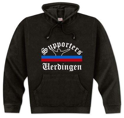 World of Football Kapuzenpulli Supporters-Uerdingen - XL