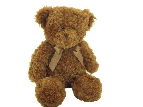 Sweety Toys 4409 XXL Teddy Bär Kuschelbär braun-cognac,Schlenkerbär, 60cm Curly lockiger Plüsch,super süss,softweich Hammerpreis