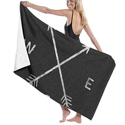 Compass xr Beach Towel Travel Towels for Camping,Sports,Yoga,Swimming,Gym Quick Dry Bath Towel 31.5