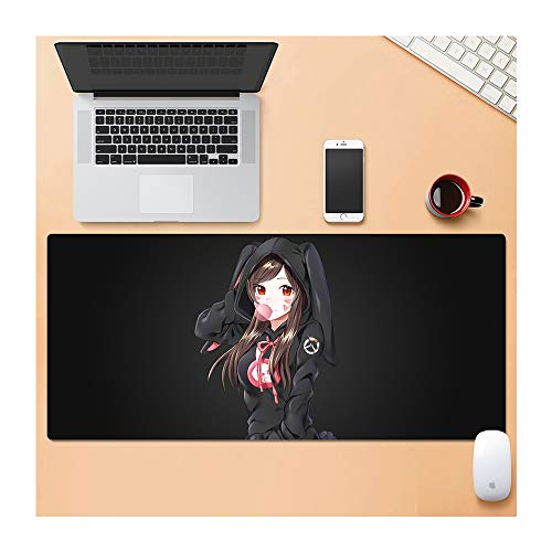 Extragroße XL Gaming Pad Mauspad für PC Laptop Macbook Anti-Rutsch 90 x 40 CM