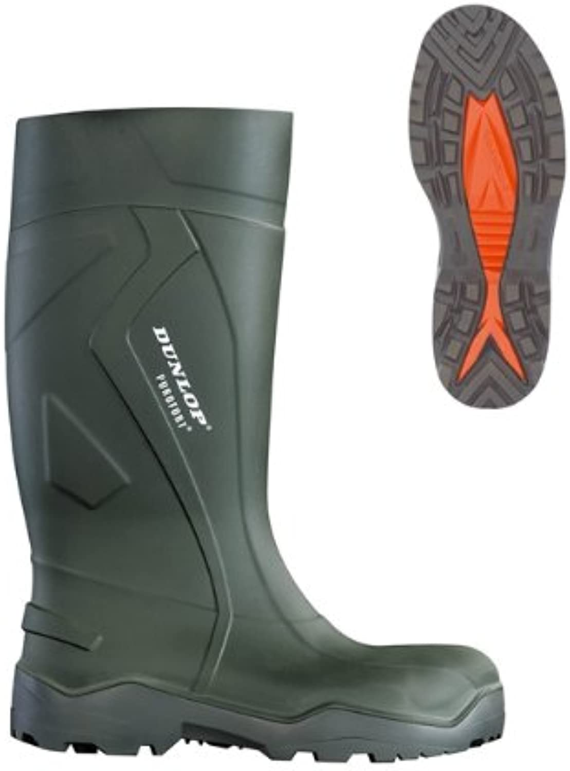 Dunlop Purofort + Non Safety Wellingtons