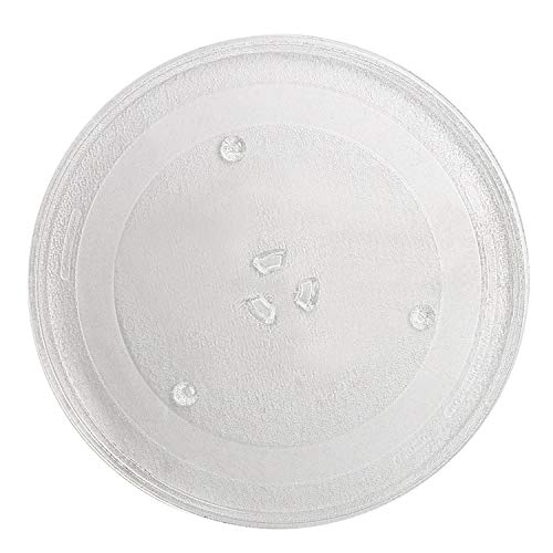 """AMI PARTS WB39X10003 12.5"""" Microwave Glass Plate/Microwave Glass Turntable Tray Replacement - 12 1/2 Inches,Compatible with G.E&Samsung-Replaces WB39X10002 WB48X10005"""