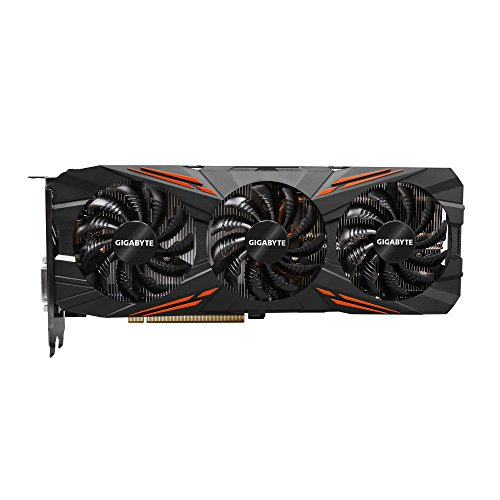 GIGABYTE GV-N1080G1 GAMING-8GD NVIDIA GeForce GTX 1080 G1 GAMING-Black Components & Replacement Parts Computers & Accessories