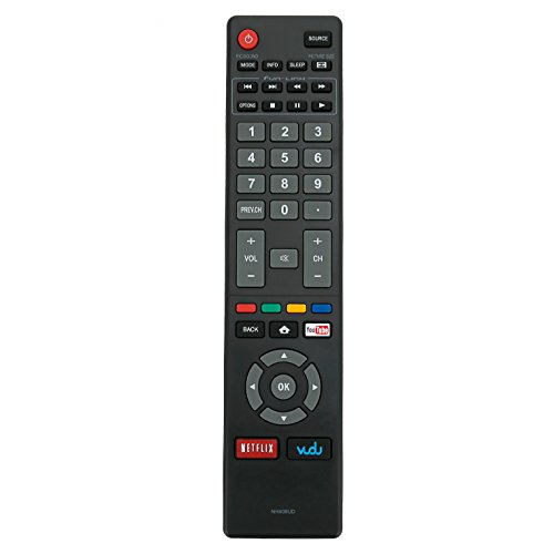 New NH409UD Replace Remote Control fit for Magnavox LED Smart HDTV TV 32MV304X 32MV304XF7 40MV324X 40MV336X 50MV314X 55MV314X 43MV314X 43MV314XF7