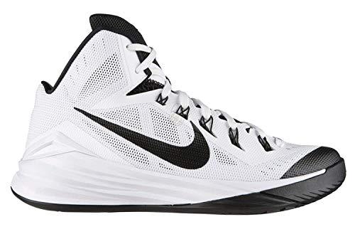 Nike Men's Hyperdunk 2014 Basketball Shoes White/Black - 100 (7)