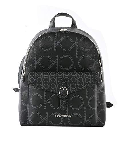 Calvin Klein Damen Rucksack Art K60K607688 BAX Farbe Foto Einheitsgröße