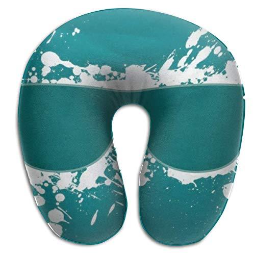 Almohada en Forma de U, Gafas para el Cuello, Viaje, Almohada Multifuncional, Coche, avión