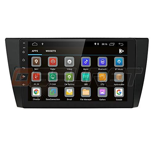 Navigatore GPS stereo per auto Android 10 Ossuret per BMW Serie 3 E90 / E91 / E92 / E93 2006 2007 2008 2009 2010 2010 2011 2012 + Supporto Can-Bus Controllo del volante