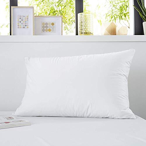 Sweetnight - Lot de 2 Protège Oreillers 50x70 cm | Set de 2 | Imperméable et Micro Respirant | Souple et Silencieux | Lavable à 90°C | Zip de Fermeture