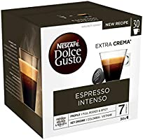 Nescafé Dolce Gusto Espresso Intenso - Café - 90 Capsules (Pack de 3 boîtes XL x 30)