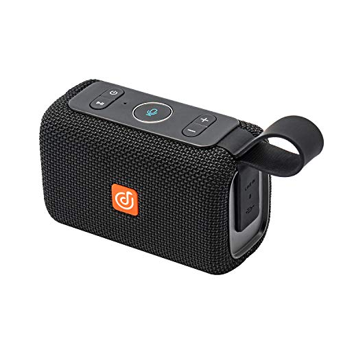 [Upgrade] DOSS E-go Alexa-Enabled Portable Bluetooth Speaker with Superior Sound, 33ft Bluetooth Range, Built-in Mic, Ultra-Portable Design, IPX6 Waterproof for Home and Outdoor