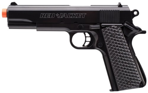 Red Jacket 1911 6mm Airsoft Pistol with BB#039sBLK