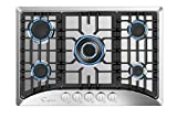 Empava 30' Built-in Gas Cooktop in Stainless Steel with 5 Burners 30XGC5B70C