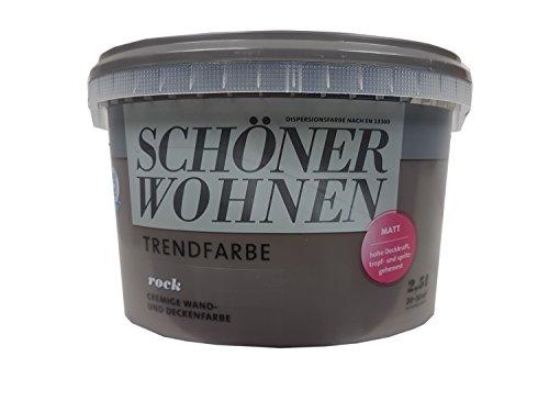2,5L Schöner Wohnen - Trendfarbe, Wandfarbe, Rock, matt