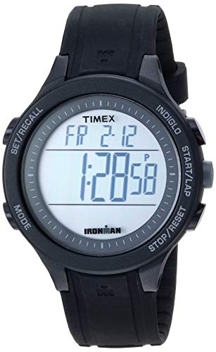 Timex Men's TW5M24400 Ironman Essential 30 Black Silicone Strap Watch