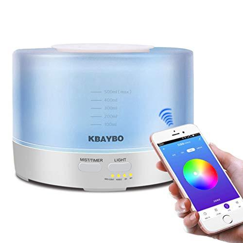 500 ml Ultrasonic Aroma Umidificador de Ar Com 7 Cor de Controle Remoto Luzes Aromaterapia Aroma do Óleo Essencial Difusor Elétrico
