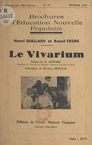 Le vivarium (French Edition)