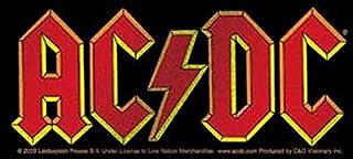AC/DC Glitzer Aufkleber Sticker Hard Rock Musik Bands ca. 13x6 cm