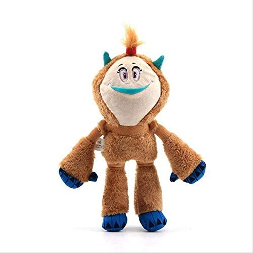 Juguetes de peluche Lovely Monster brown Kolka Monster Plush Dolls 25 cm para decoración del hogar Dormitorio Sofá Coche Oficina Decorativa